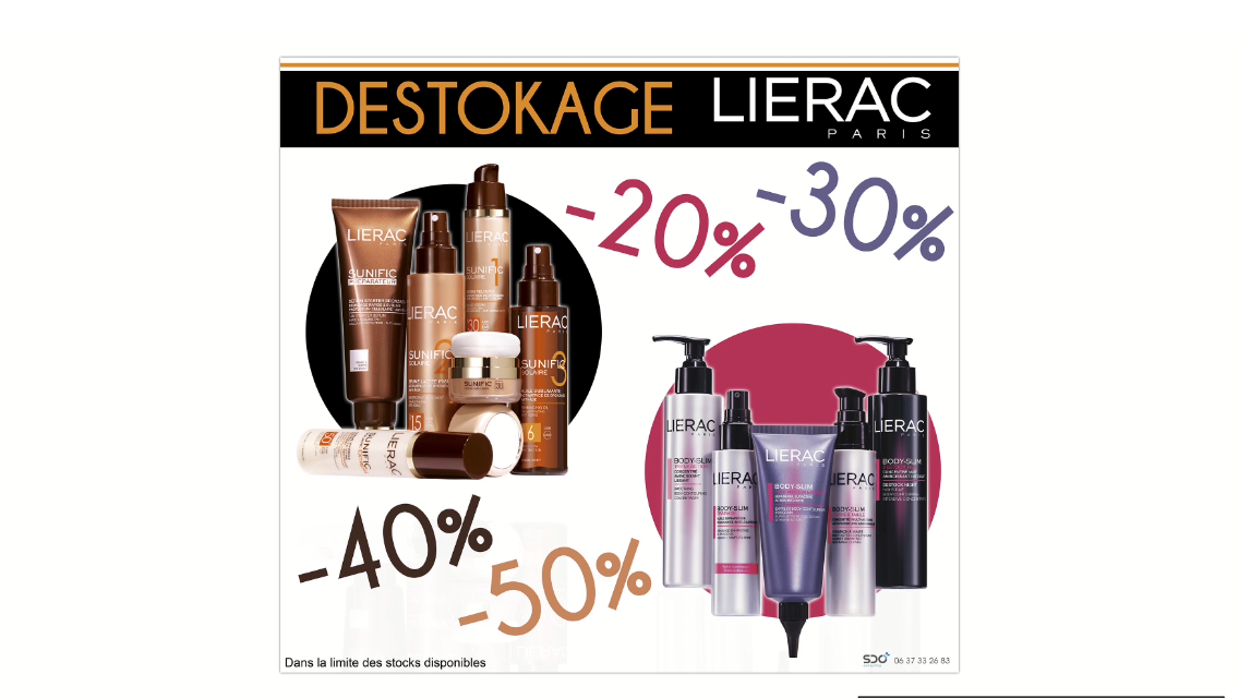 promotion lierac pharmacie marseille